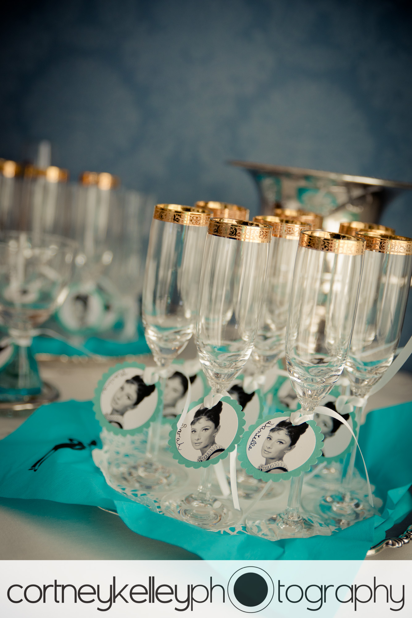 a sweetly delightful afternoon breakfast at tiffanys themed bridal shower seattle wa